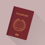 passaporto illustrazione di stock