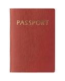 Passaporto in bianco Fotografia Stock Libera da Diritti