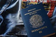 Passaporto brasiliano Immagine Stock