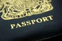 Passaporto britannico Immagine Stock