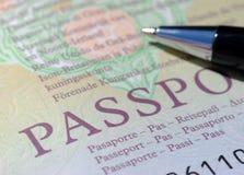 Passaporto BRITANNICO Immagine Stock Libera da Diritti