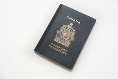 Passaporto canadese Fotografia Stock Libera da Diritti