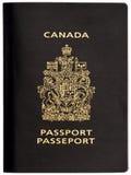 Passaporto canadese Fotografie Stock