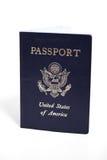 Passaporto degli S.U.A. Fotografia Stock Libera da Diritti