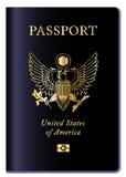 Passaporto degli Stati Uniti d'America Fotografia Stock Libera da Diritti
