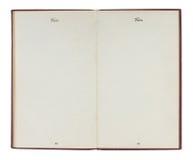Passaporto degli Stati Uniti dell'annata con le pagine in bianco Immagine Stock
