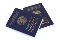 Passaporto del Belarus fotografie stock