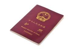 Passaporto della Cina Fotografia Stock