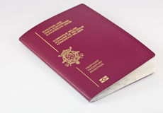 Passaporto di viaggio Fotografie Stock