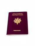 Passaporto francese Immagine Stock Libera da Diritti