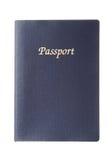 Passaporto generico blu Fotografia Stock