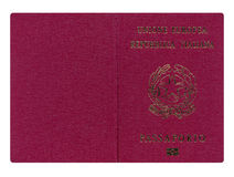Passaporto italiano Immagini Stock Libere da Diritti