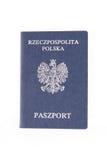 Passaporto polacco Immagini Stock Libere da Diritti