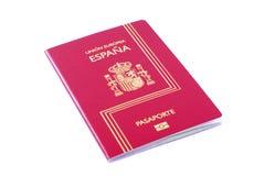 Passaporto spagnolo immagini stock libere da diritti