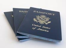 Passaporto Stati Uniti Fotografia Stock