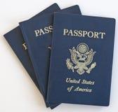 Passaporto Stati Uniti Fotografie Stock Libere da Diritti