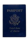 Passaporto Stati Uniti d'America Fotografie Stock Libere da Diritti
