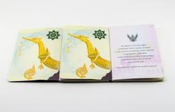 Passaporto tailandese Fotografie Stock Libere da Diritti
