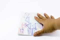 Passaporto tailandese Immagine Stock