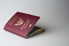 Passaporto tailandese reale immagine stock libera da diritti