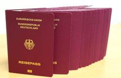Passaporto tedesco Immagine Stock Libera da Diritti