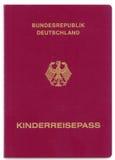 Passaporto tedesco Immagini Stock