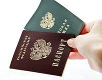 Passarbeitsbuch Lizenzfreie Stockfotos