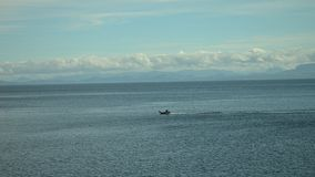Passare il mare senza fine Fotografia Stock Libera da Diritti
