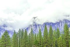 Passare le nubi Fotografia Stock Libera da Diritti