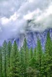 Passare le nubi Immagine Stock