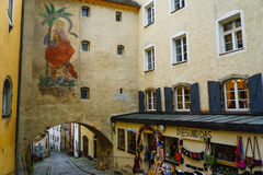 Passau,德国 库存照片