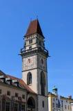 Passau ратуши Стоковые Фотографии RF