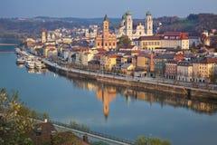 Passau lizenzfreies stockfoto
