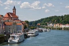 Passau, Alemanha fotos de stock