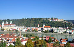 Passau in bavaria Stock Images