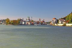 Passau, Bavaria, Germany Stock Photo