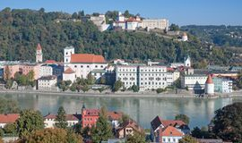 Passau,Bavaria,Germany Stock Image