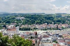 Passau, City of Three Rivers, Bavaria, Germany Stock Photography