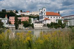 Passau, Deutschland stockfotografie
