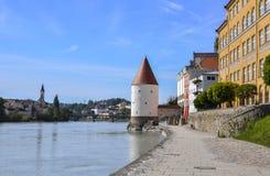 Passau (Deutschland) Stockfotografie