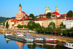 Passau in Duitsland Royalty-vrije Stock Foto