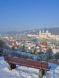Passau en Bavière images libres de droits