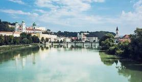 Passau, Lower Bavaria, Germany Stock Image