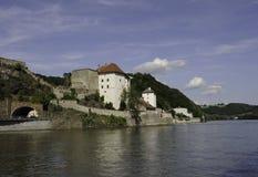 Passau Riverscape Royalty Free Stock Photos