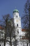 Passau, St. Stephan's Cathedral Stock Photo