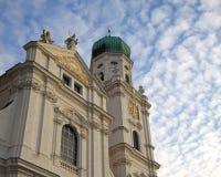 Passau, St. Stephans Kathedraal Stock Afbeelding