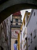 Passau-Straßen Stockfotografie