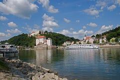 Passau Tyskland Royaltyfria Foton