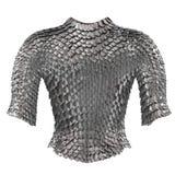 Passe a armadura chain no fundo branco isolado, ilustração 3d Foto de Stock Royalty Free