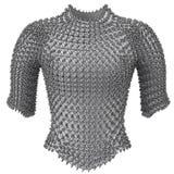 Passe a armadura chain no fundo branco isolado, ilustração 3d Foto de Stock